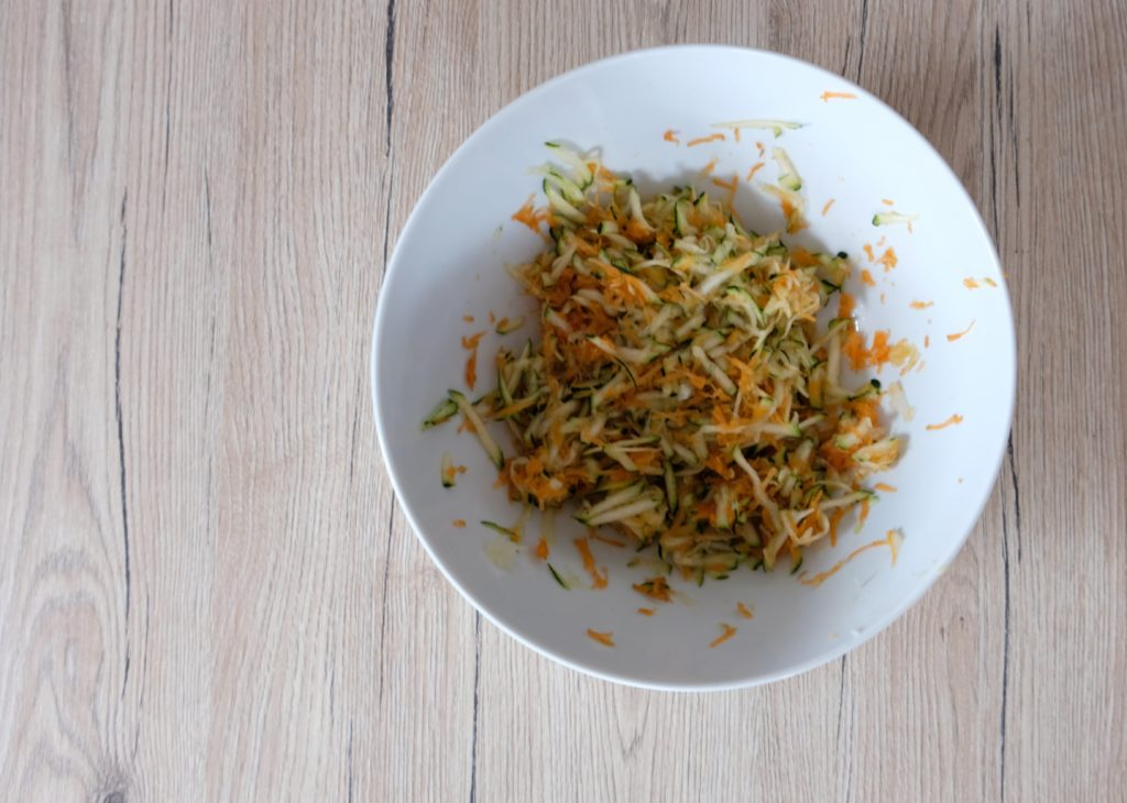 Ein einfaches Rezept für Gemüsewaffeln. Ideal für Kinder.