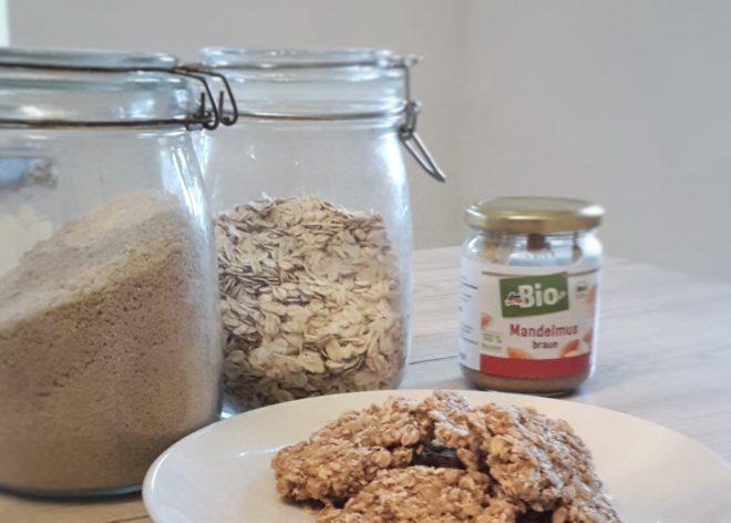 Müslitaler - der ideale Snack aus Haferflocken und Amaranth für den Kindergarten