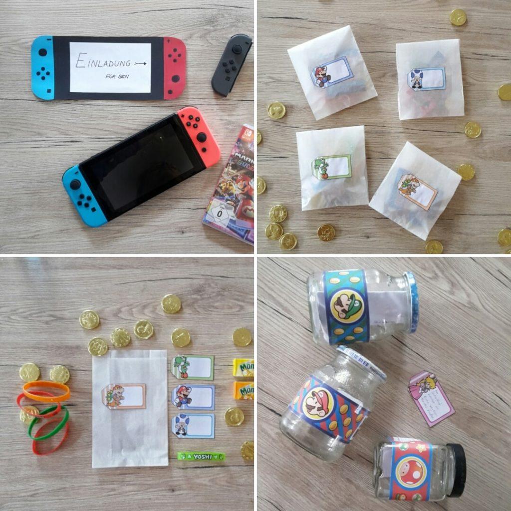 Nintendo Switch Kindergeburtstag. So feierst du eine entspannnte Nintendo Switch Party.