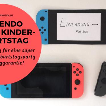 Anleitung für eine entspannte Nintendo Switch Party mit Kindern