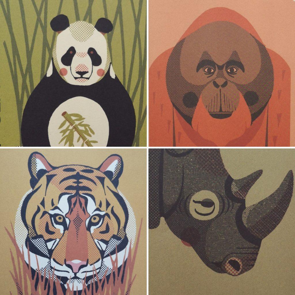 Seltene Tiere - Ein Atlas der bedrohten Arten